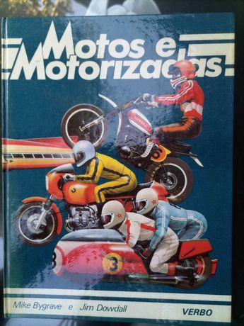 Livro Motos e Motorizadas/Mike Bygrave e Jim Dowdall/antigo
