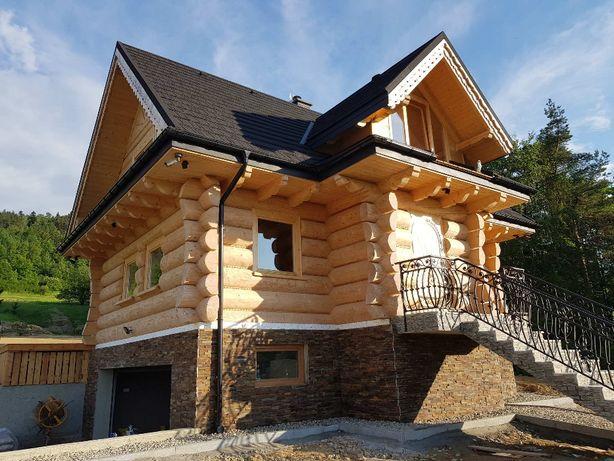 Dom z bali góralski PRODUCENT 9x7
