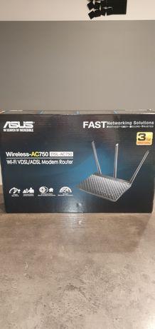 Asus Wireless-AC750 DSL-AC750 - gwarancja, okazja, cena bez negocjacji
