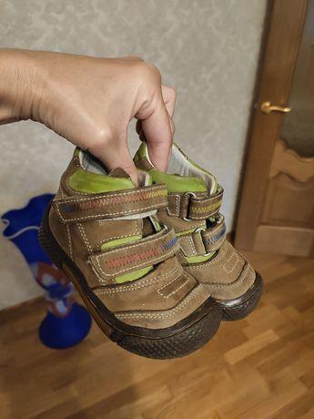Осенние ботинки кожа ,21 размер