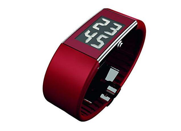 Rosendahl Men's Digital Watch II 43108 Red Czerwony Zegarek