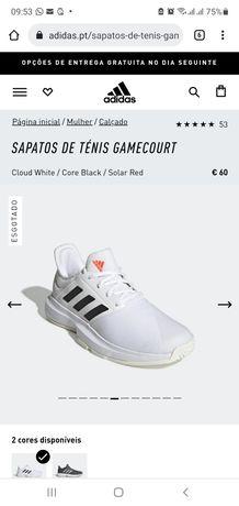 Ténis Adidas Novos senhora para padel/tenis (tam. 41)