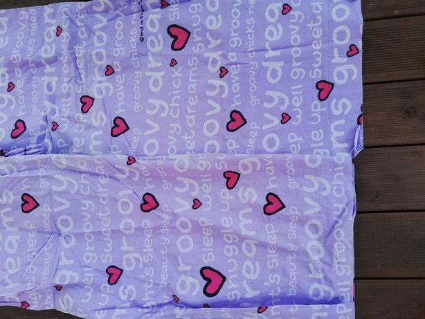 Zaslonki bawełniane groovy chicks  165x135 2 sztuki