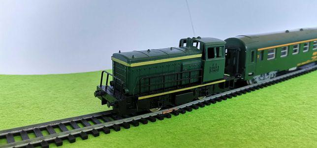 Comboio Locomotiva carruagem Jouef 1/87 ho