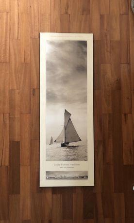 Quadro da regata Louis Vuitton Tradition