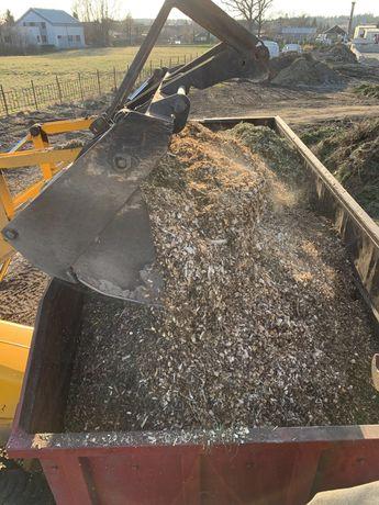 Zrebka zrebki biomasa zrzyny do roslin kora