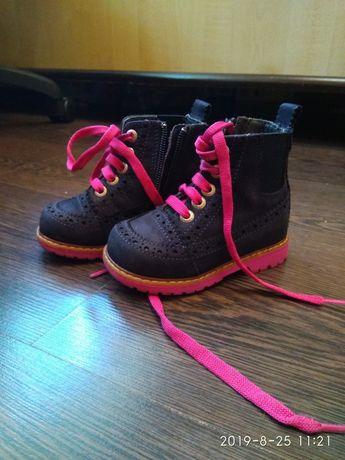 Обувь пакетом для девочки