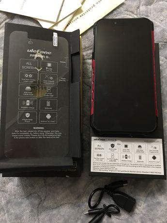 Противударный, водонепроницаемый телефон Ulefone armor 6 6/128