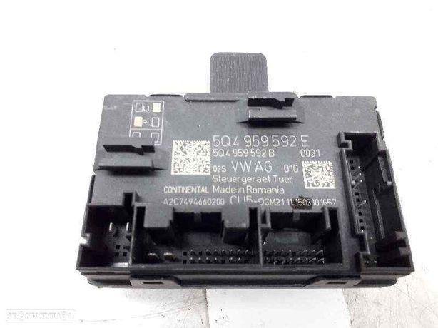 5Q4959592E Módulo eletrónico SKODA OCTAVIA III (5E3, NL3, NR3) 2.0 TDI RS CUNA