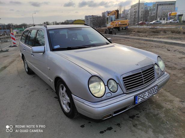 Śliczny Mercedes e 240 automat avangarde bez wkładu  stan bdb zamiana