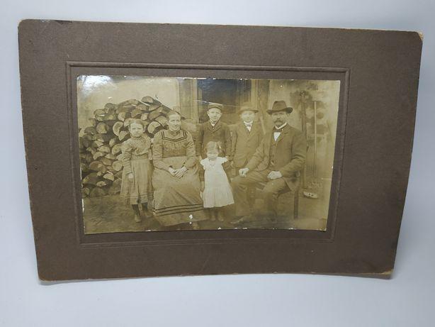 Семейная фотография конца XIX века. Германия