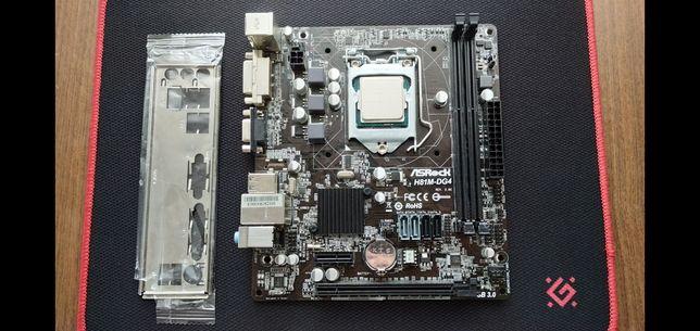 Материнская плата сокет 1150 + процессор (s1150, lga1150, Lga1150)
