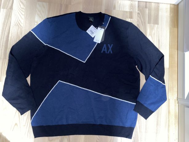 Мужской свитер XXL полномерный Armani Xchange