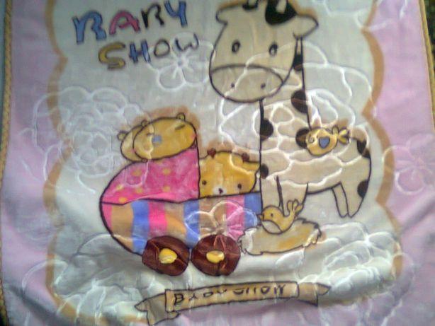 Плед одеялко +комплект постельного новое!