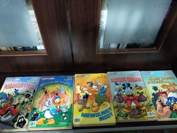 Zestaw 33 komiksów Gigant, Komiks Gigant