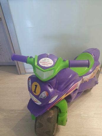 Детский беговел, мотоцикл