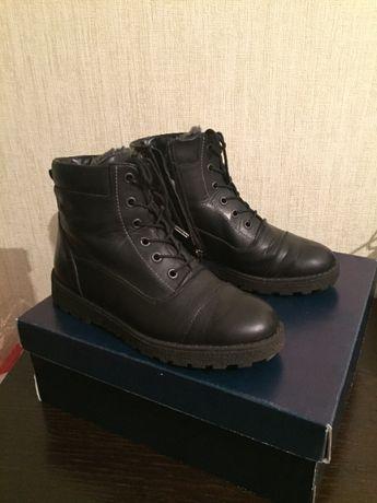 Ботинки Braska кожаные, 37 размер на овчине