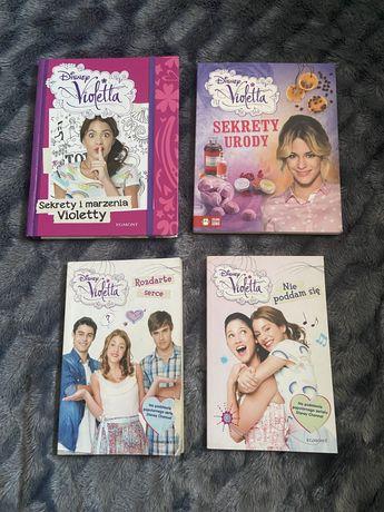 Cztery Książki z serii Violetta