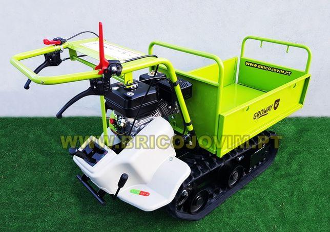 Transportadora de Lagartas / Mini Dumper - Motor 7cv - 4 Velocidades