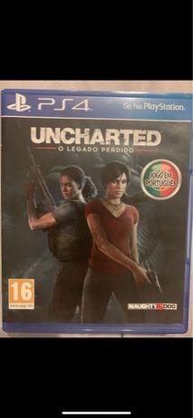 """Uncharted """"o Legado Perdido"""""""