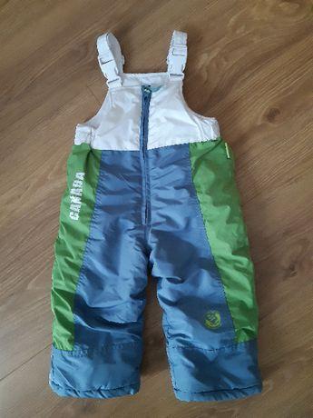Spodnie narciarskie zimowe Coccodrillo rozmiar 86