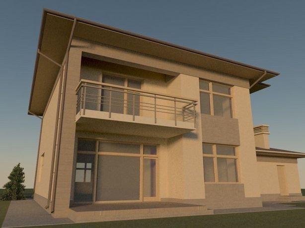 Большой дом мечты для семьи в Фонтанке + 10 соток
