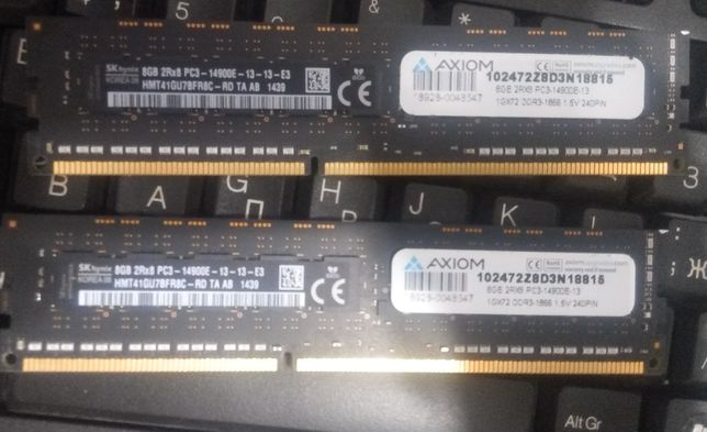 Оперативная память для Apple Mac Hynix 8gb PC3-14900E
