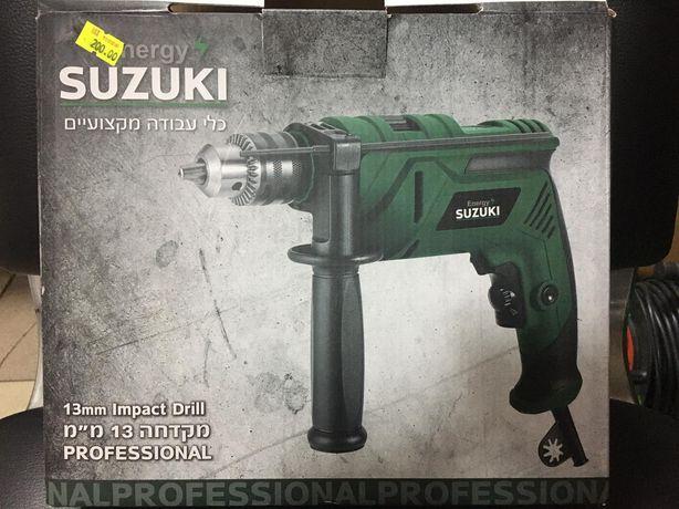 Новая Дрель ударная Suzuki SEDP800