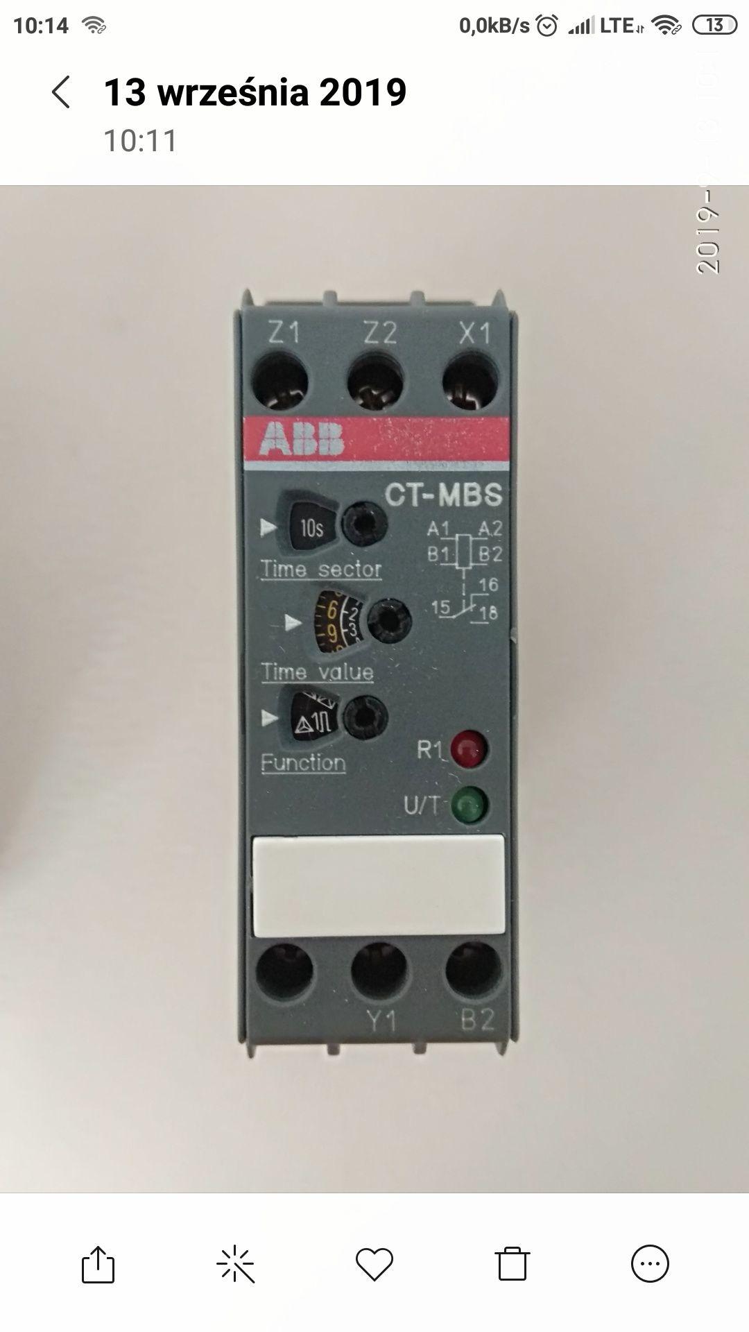 ABB przekaźnik czasowy CT-MSB