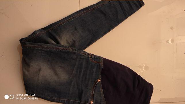 Spodnie ciążowe h&m mama r.38