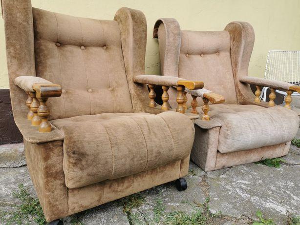 Fotele Uszaki, cena 150 zł za dwa