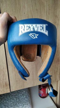 Шолом шкіряниц боксерський Reyvel.
