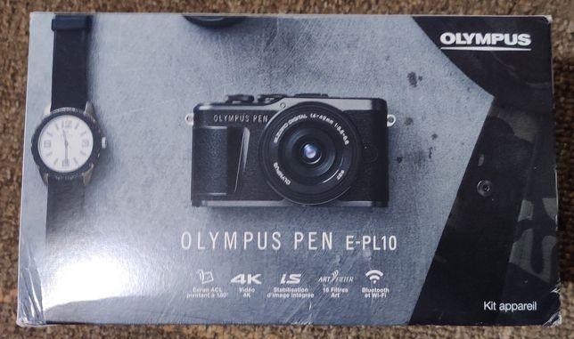 Фотоаппарат OLYMPUS E-PL10 14-42 mm Kit brown/black/white НОВЫЕ