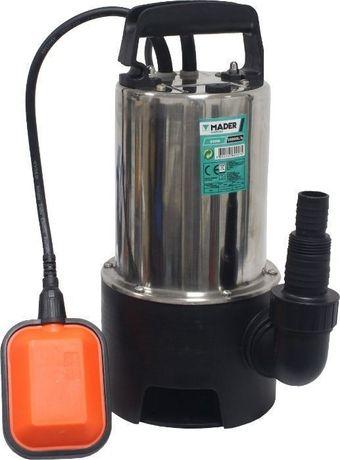 Bomba Submersível de Águas Sujas, 550 W, 10 500 L/h - INOX - MADER®