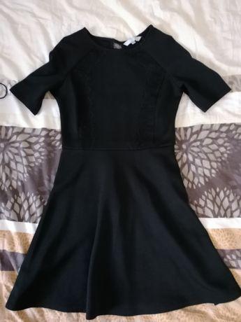 Czarna sukienka s