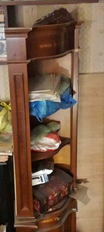 Шкаф витрина угловая буфет сервант мебель кухня