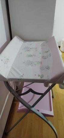 Banheira / muda fraldas bebé + ninho