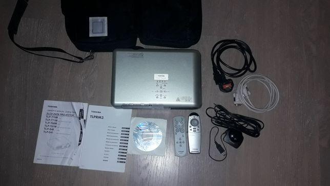 Проектор Toshiba TLP-T60M полный комплект
