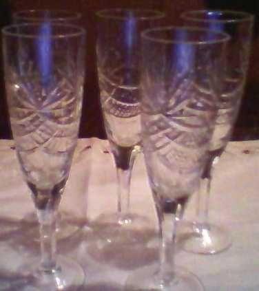 Новые бокалы для Вашего стола.Хрусталь, для шампанского