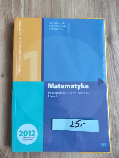 Matematyka Podręcznik do liceów i techników klasa 1