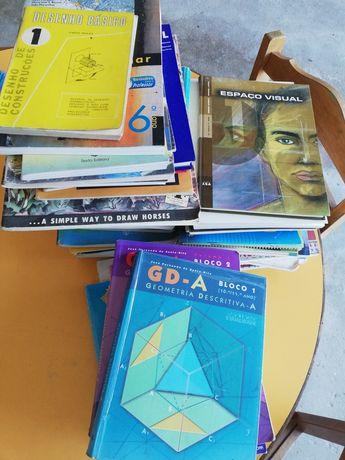Lote Desenho, Geometria e Educação visual