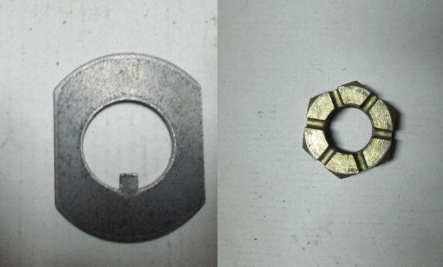 Podkładka z nakrętką piasty przedniej do K-162 Ostrówek