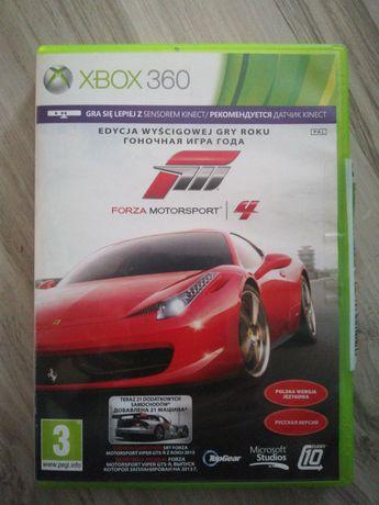Forza motor sport 4 pl xbox 360