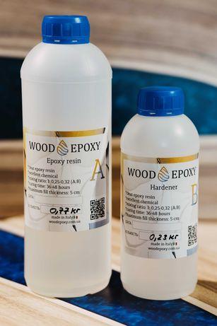 Епоксидна смола Wood Epoxy ( 1кг - 400 грн)