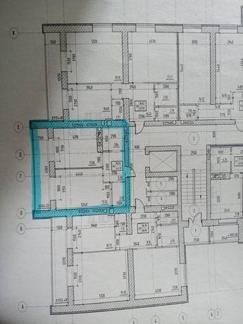 Продаж однокімнатної квартири в новобудові
