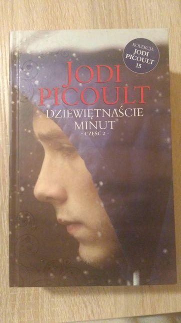 """Książka """" dziewiętnaście minut"""" Jodi Picoult"""