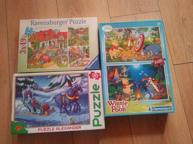 Puzzle super zestaw