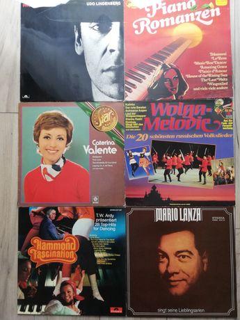 Albumy winylowe z muzyką rozrywkową lat 60-70-tych