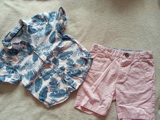 Пакет летней одежды на мальчика 2-3 года