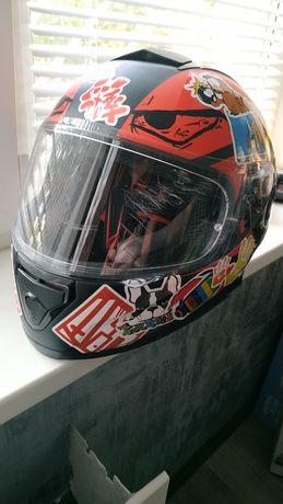 Мотошлем MT Helmets Thunder 3 Pitlane б/у